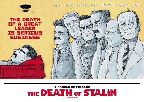 Death of Stalin posterspy Ray