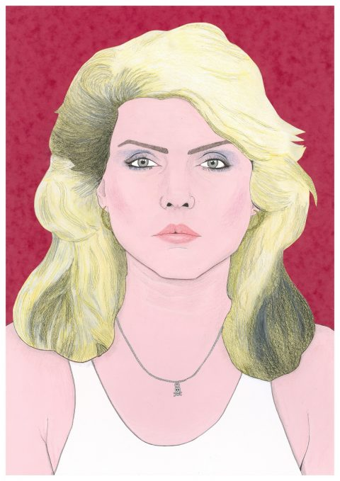 Debbie Harry / Blondie portrait