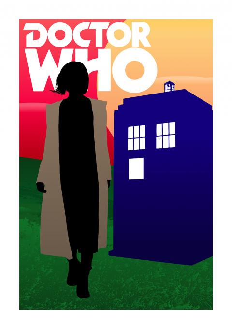 Doctor Who | Thirteenth Doctor | Jodie Whittaker Poster