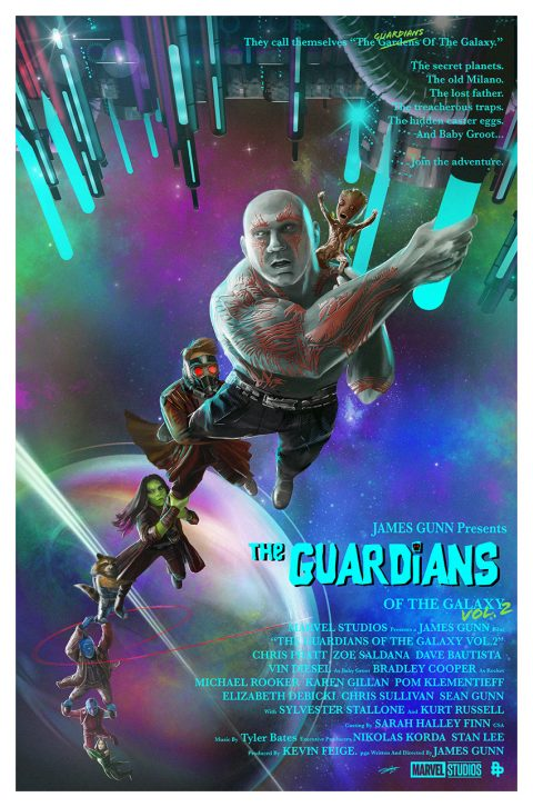 Guardians Of The Galaxy Never Say Die