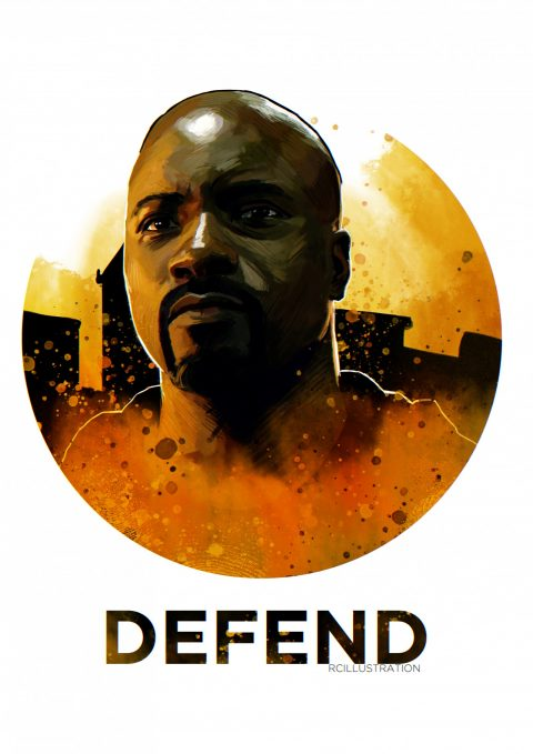 The Defenders- Luke Cage