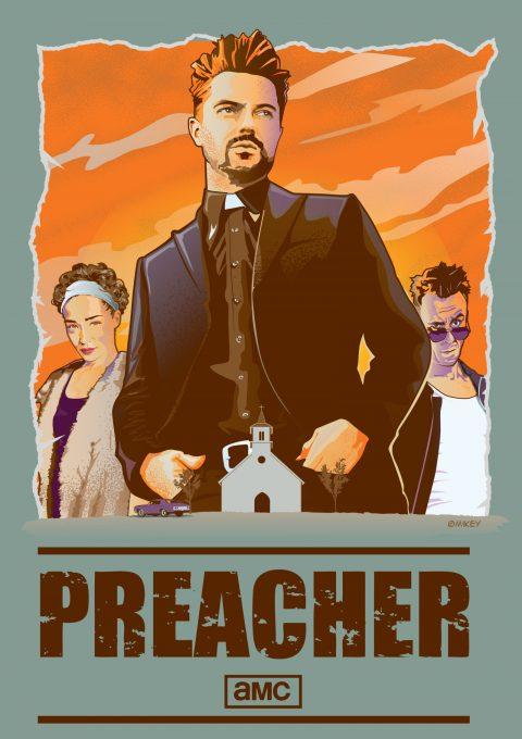 AMC Preacher Poster