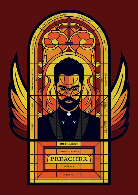 Preacher – Season One – Alternative Poster