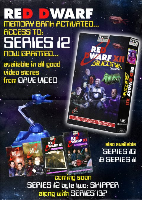 Red Dwarf VHS cover
