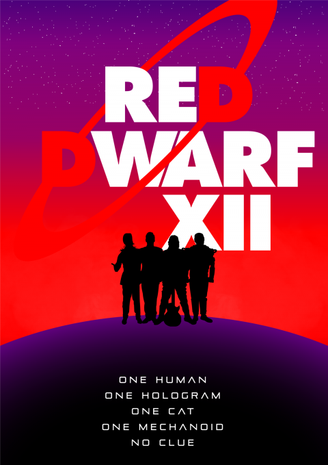 Red Dwarf XII Alternative Poster