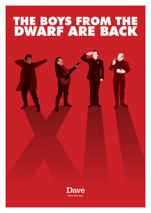 The Boys from the Dwarf – Red Dwarf XII Poster