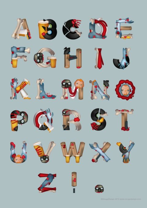 Movie Inspired Typographical Poster