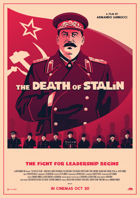 THE DEATH OF STALINE Poster Art