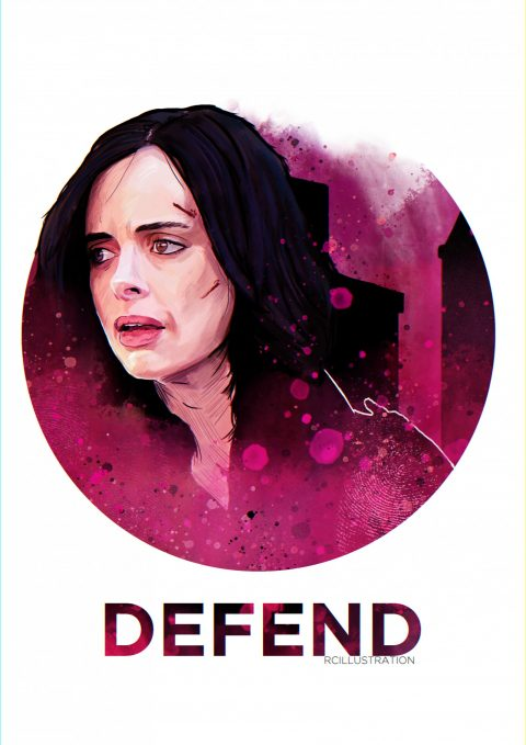 The Defenders- Jessica Jones