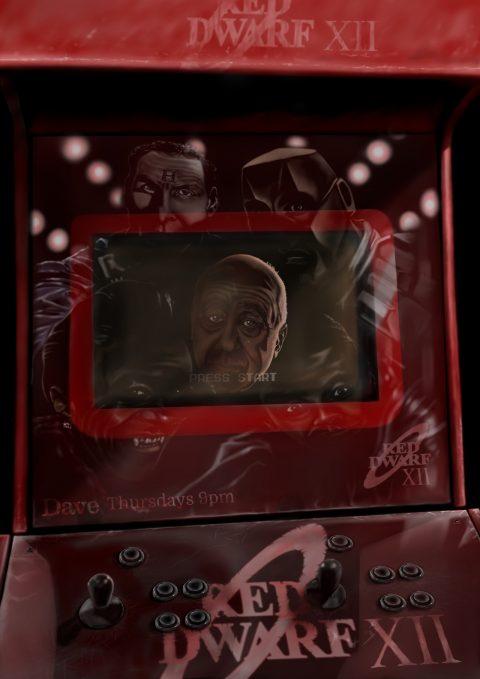 Red Dwarf XII – Retro arcade game.