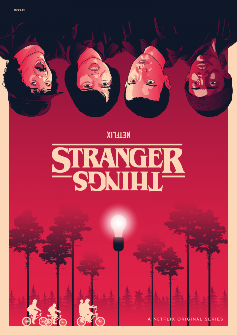 STRANGER THINGS S1 Poster Art