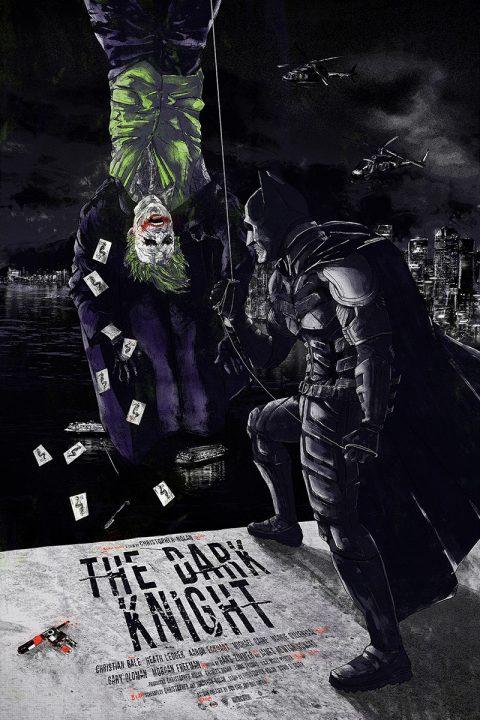 """MADNESS IS LIKE GRAVITY"" – The Dark Knight alternative movie poster REGULAR"