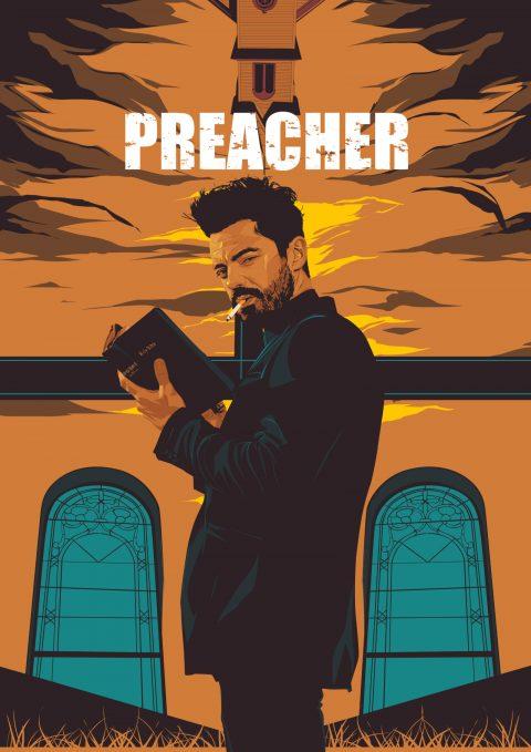 preacher – alternative poster