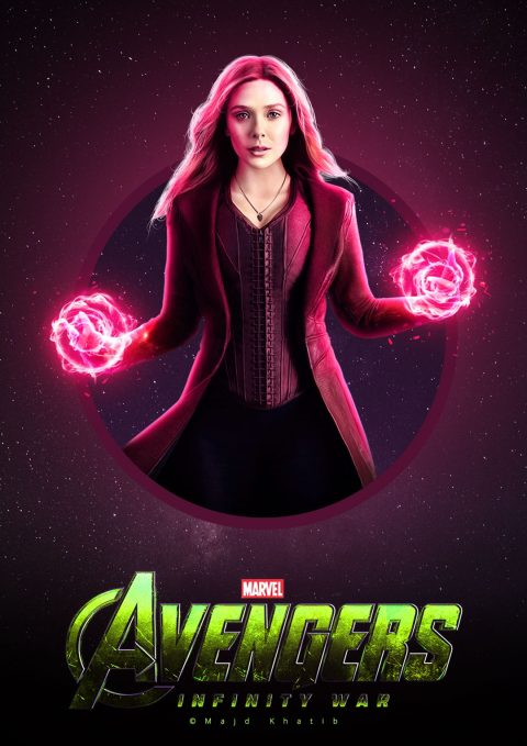 "Avengers ""Infinity War"" – Scarlet Witch"