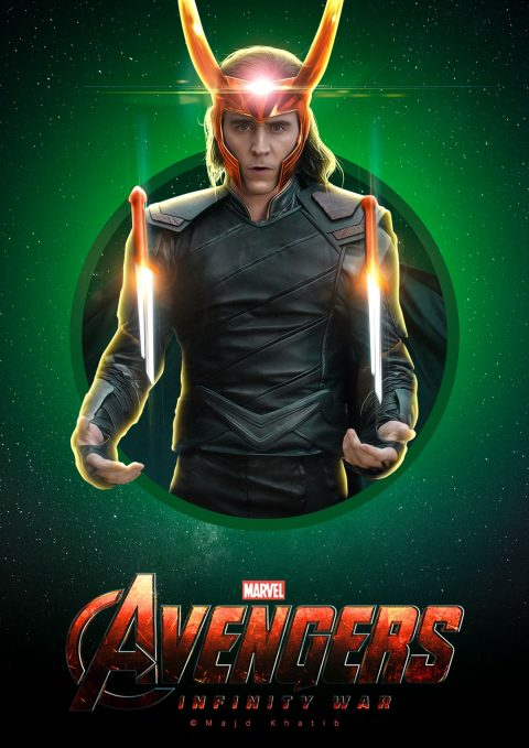 "Avengers ""Infinity War"" – Loki"