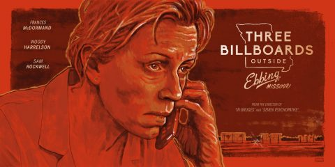 Alternative poster for Three Billboards Outside Ebbing, Missouri
