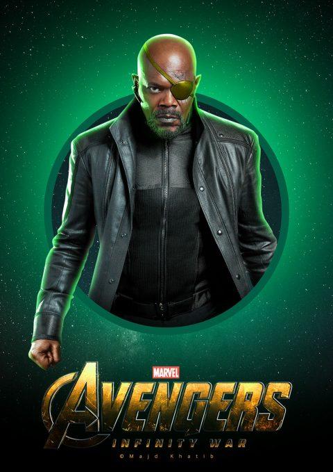 """Avengers """"Infinity War"""" – Nick Fury"""