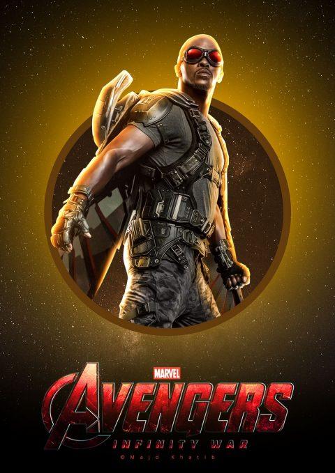 "Avengers ""Infinity War"" – Falcon"