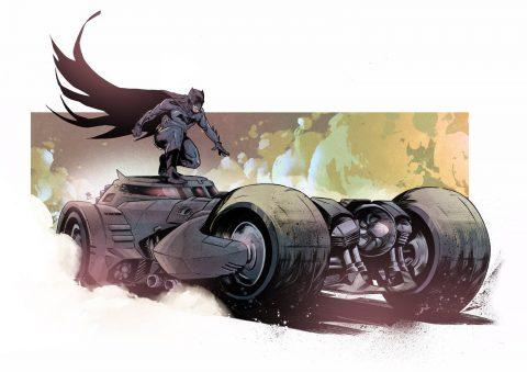 The Dark Knight's Ride