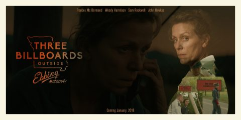 Three Billboards Outside Ebbing, Missouri Poster Design