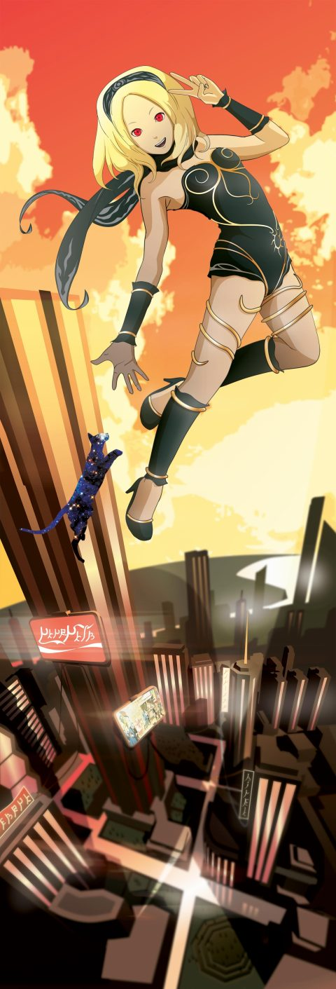 Gravity Rush /Gravity Daze vector tribute!