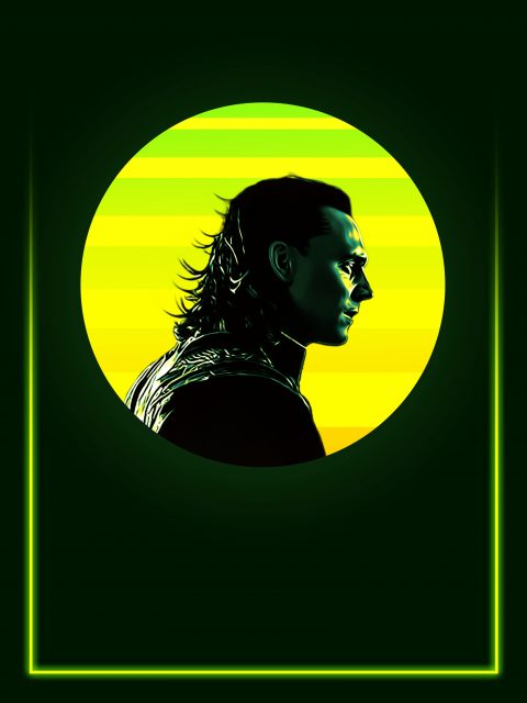 Loki's 80's Character Poster