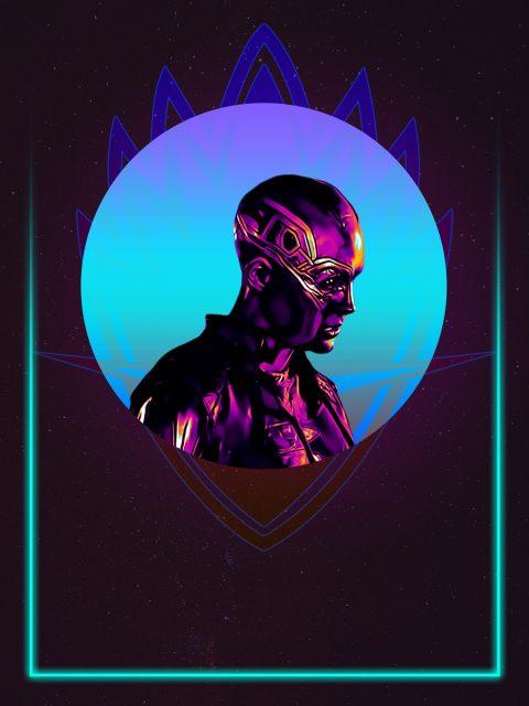 Nebula 80's Character poster