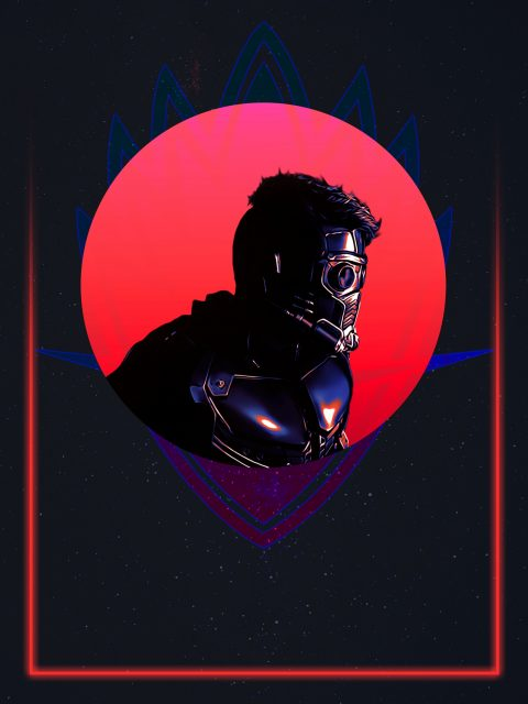 Star Lord 80's Character Poster