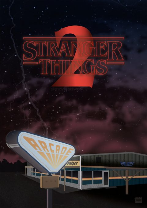 Stranger Things 2 – Arcade Hall