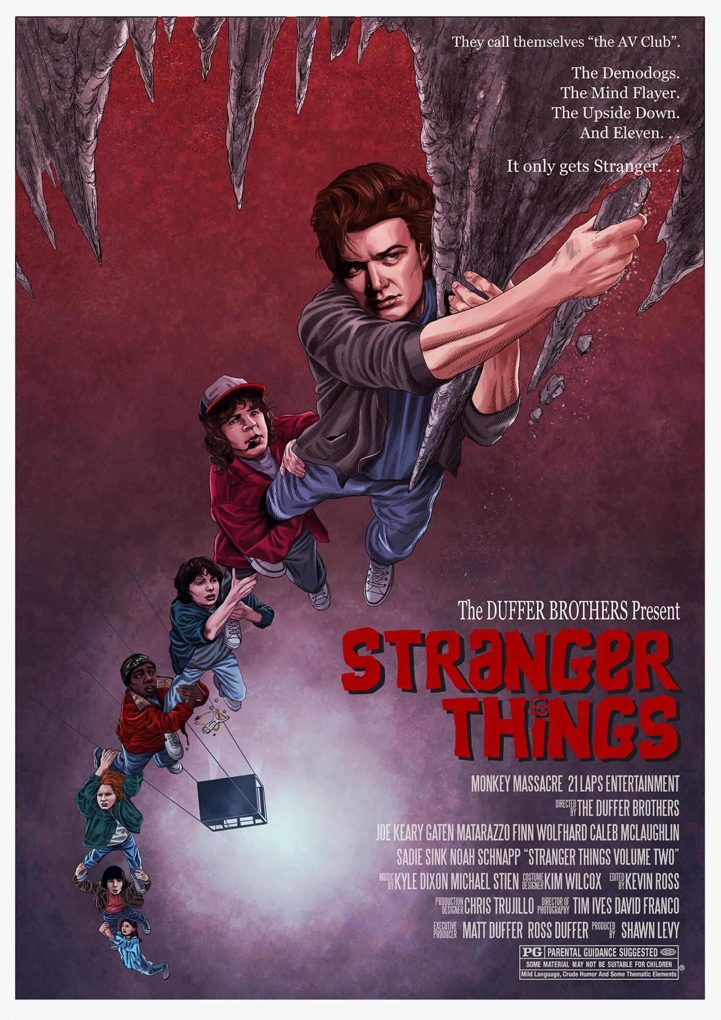 Stranger Things 2 Tribute - PosterSpy