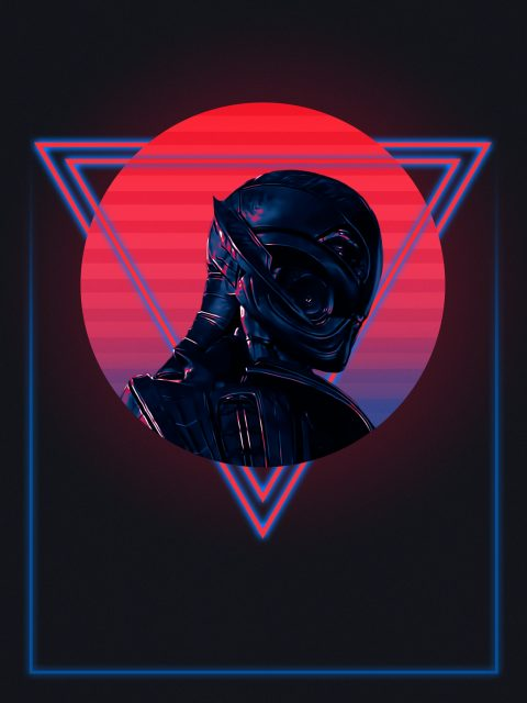 80's Ultron Character Poster