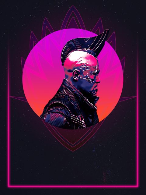 Yondu 80's character poster