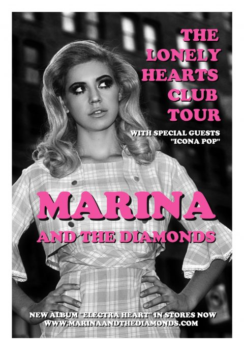 Marina And The Diamonds – The Lonely Hearts Club Tour