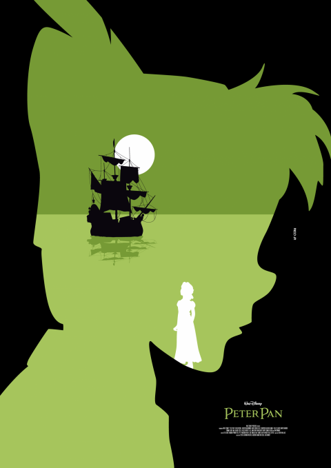 PETER PAN Poster Art