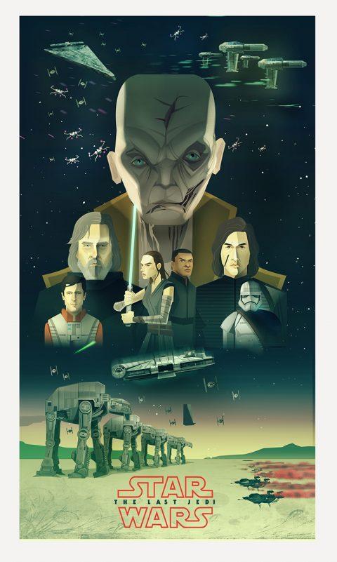 Starwars The Last Jedi Poster