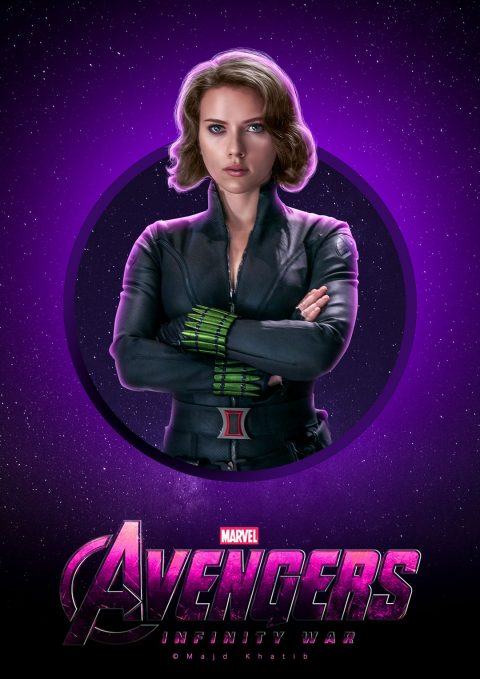 "Avengers ""Infinity War"" – Black Widow"