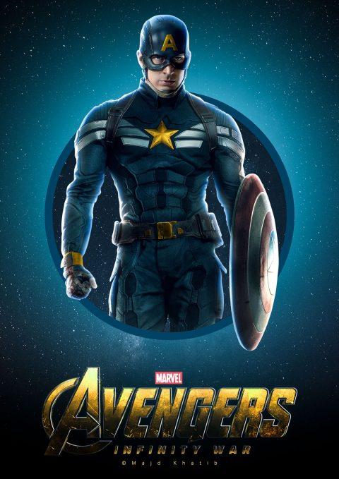 "Avengers ""Infinity War"" – Captain America"
