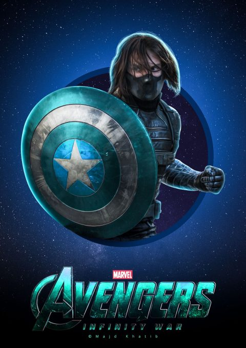 "Avengers ""Infinity War"" – Winter Soldier"