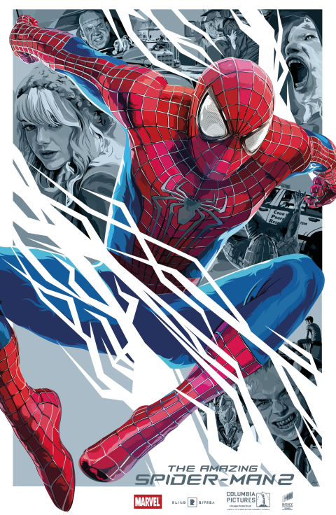 The Amazing Spiderman 2 – Vector Art