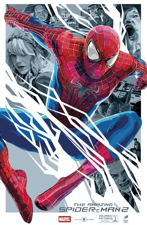 The Amazing Spiderman 2 – Vector Art