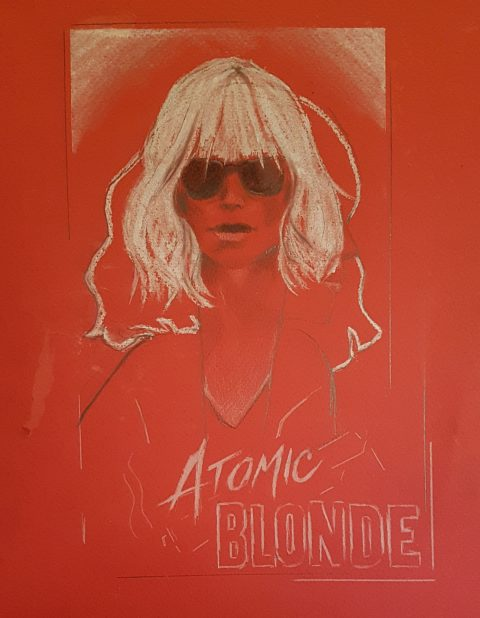 Atomic Blonde Red