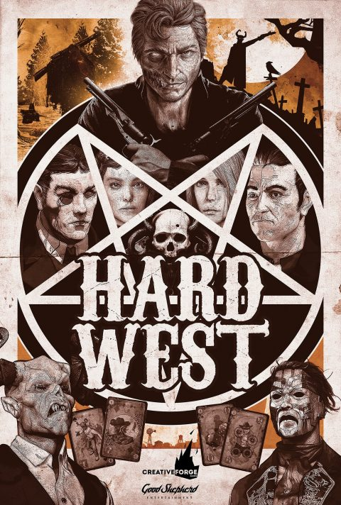 Hard West Poster Design
