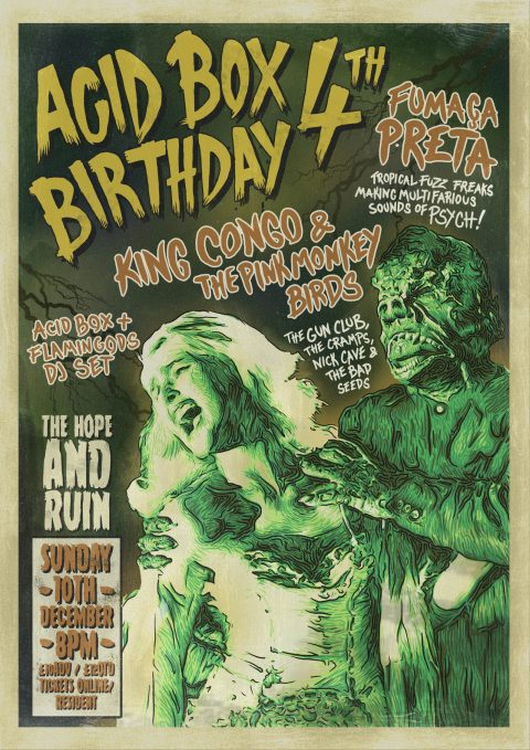 ACID BOX 4th BIRTHDAY