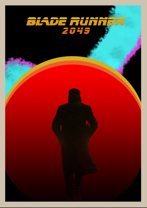 Minimalist Blade Runner 2049 Poster