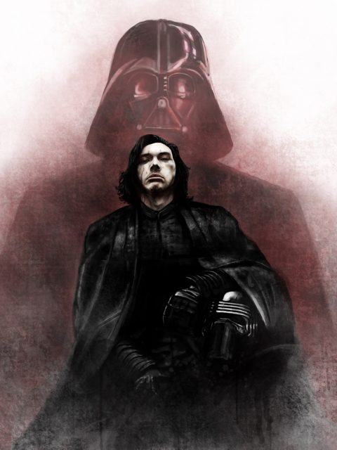 The Family Business – Kylo Ren and Darth Vader