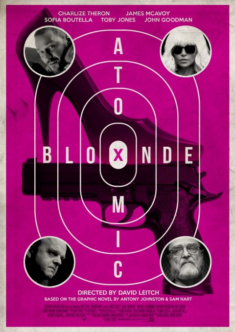 Atomic Blonde Retro Poster