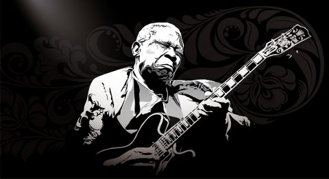 BB King, the only King
