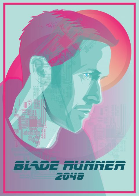 Blade Runner 2049 Vector Illustration…