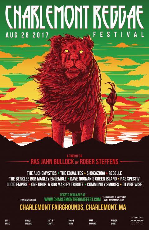 CHARLEMONT REGGAE FESTIVAL – Poster Design | 2017