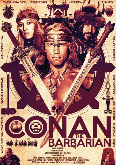 Alternative Poster for Conan the Barbarian